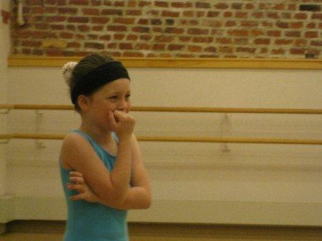 laughing ballerina