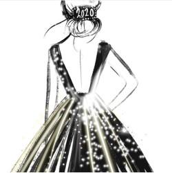 keratil NYE dress